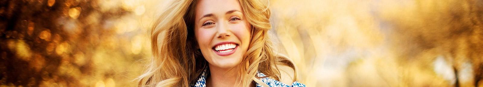 Fogfehérítés utáni mosoly